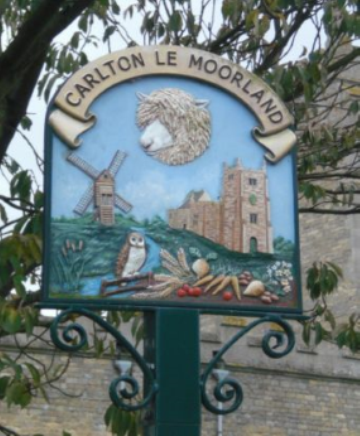 Carlton le Moorland Village Signs